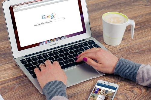 get website on google