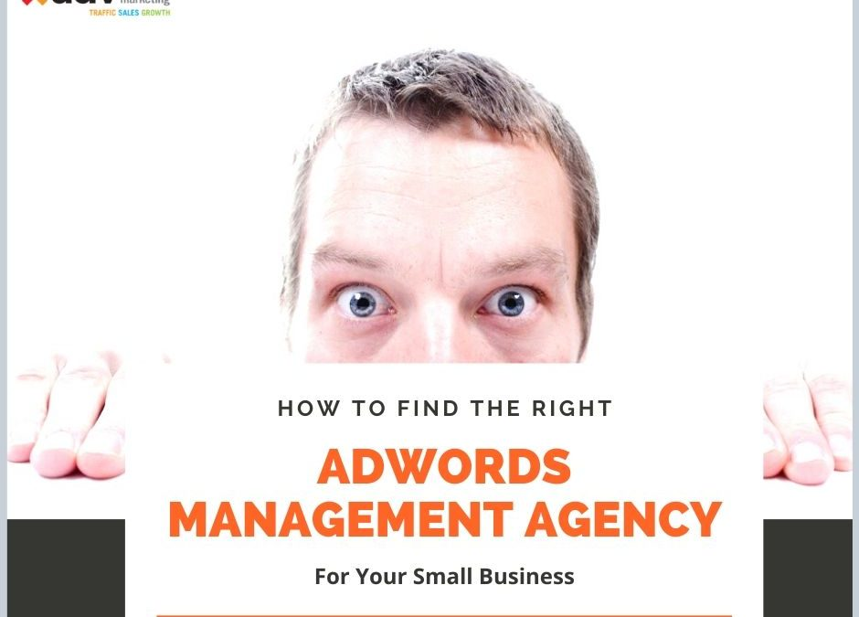 How To Find The Right Adwords Management Agency For Your Small Business